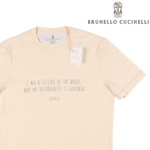 【M】 BRUNELLO CUCINELLI ブルネロクチネリ Uネック半袖Tシャツ M0T617463 メンズ 春夏 ホワイト 白 並行輸入品 トップス|utsubostock