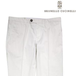 【52】 BRUNELLO CUCINELLI ブルネロクチネリ パンツ M079DF1050 メンズ ホワイト 白 並行輸入品 ズボン 大きいサイズ|utsubostock
