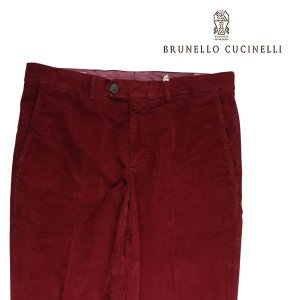 【48】 BRUNELLO CUCINELLI ブルネロクチネリ パンツ M298DT1050 メンズ 秋冬 レッド 赤 並行輸入品 ズボン|utsubostock
