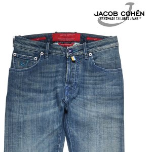 【29】 JACOB COHEN ヤコブコーエン ジーンズ J622OCTOPUS メンズ ブルー 青 並行輸入品 デニム utsubostock