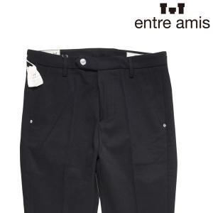 【30】 Entre Amis アントレアミス パンツ メンズ ブラック 黒 並行輸入品 ズボン|utsubostock