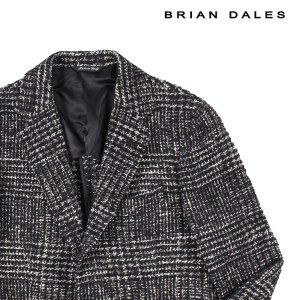 【46】 BRIAN DALES ブライアンデールス ジャケット メンズ 秋冬 ブラック 黒 並行輸入品 アウター トップス|utsubostock