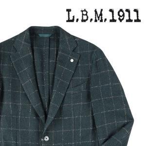 【46】 L.B.M.1911 エルビーエム ジャケット 2833 メンズ 秋冬 グリーン 緑 並行輸入品 アウター トップス|utsubostock