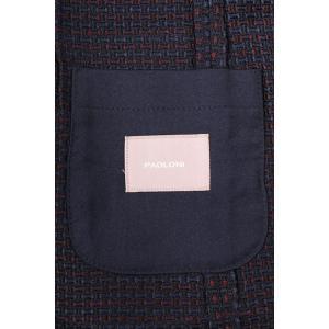 【56】 PAOLONI パオローニ ジャケット メンズ 秋冬 ネイビー 紺 並行輸入品 アウター トップス 大きいサイズ|utsubostock|09