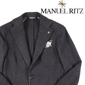 【44】 MANUEL RITZ マニュエル リッツ ジャケット メンズ 秋冬 ネイビー 紺 並行輸入品 アウター トップス utsubostock