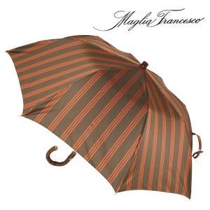 Maglia Francesco マリアフランチェスコ 折畳傘 メンズ ハンドメイド ブラウン 茶 並行輸入品|utsubostock