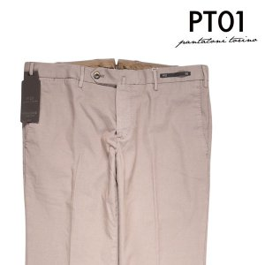 【54】 PT01 ピーティー ゼロウーノ パンツ TU69CODT01Z00CL3 メンズ 春夏 ベージュ 並行輸入品 ズボン 大きいサイズ 【訳あり】|utsubostock