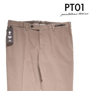 【50】 PT01 ピーティー ゼロウーノ パンツ NK03CPDT01Z00MA2 メンズ ブラウン 茶 並行輸入品 ズボン 【訳あり】|utsubostock
