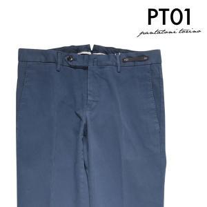 【44】 PT01 ピーティー ゼロウーノ パンツ NK03CPDT01Z00MA2 メンズ ネイビー 紺 並行輸入品 ズボン 【訳あり】|utsubostock