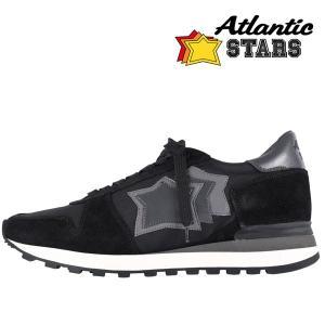 【45】 Atlantic Stars アトランティックスターズ スニーカー ARGO メンズ ブラック 黒 並行輸入品 大きいサイズ|utsubostock
