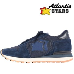 【42】 Atlantic Stars アトランティックスターズ スニーカー ARGO メンズ ネイビー 紺 並行輸入品|utsubostock