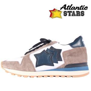 【44】 Atlantic Stars アトランティックスターズ スニーカー ARGO メンズ ホワイト 白 並行輸入品 大きいサイズ|utsubostock