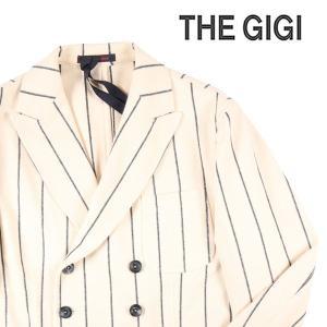 【48】 THE GIGI ザ ジジ ジャケット ZIGGY メンズ ストライプ ベージュ 並行輸入品 アウター トップス|utsubostock
