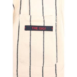 【48】 THE GIGI ザ ジジ ジャケット ZIGGY メンズ ストライプ ベージュ 並行輸入品 アウター トップス|utsubostock|08