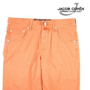 【31】 JACOB COHEN ヤコブコーエン ハーフパンツ J6636 メンズ 春夏 オレンジ 並行輸入品 ズボン|utsubostock