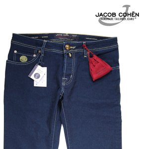 【32】 JACOB COHEN ヤコブコーエン ジーンズ J622 RACE メンズ ブルー 青 並行輸入品 デニム|utsubostock