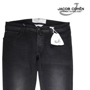 【37】 JACOB COHEN ヤコブコーエン ジーンズ PW622 メンズ ブラック 黒 並行輸入品 デニム 大きいサイズ|utsubostock