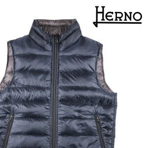 【46】 HERNO ヘルノ ダウンベスト PI0200U-12020 メンズ 秋冬 リバーシブル ネイビー 紺 並行輸入品 アウター トップス utsubostock