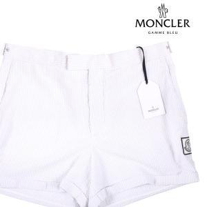 MONCLER GAMME BLEU(モンクレールガムブルー) ハーフパンツ PANTALONE BERMUDA ホワイト 5 20121 【S20122】|utsubostock
