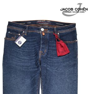 JACOB COHEN(ヤコブコーエン) ジーンズ J688 ブルー 36 【A20131】|utsubostock