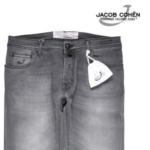【33】 JACOB COHEN ヤコブコーエン ジーンズ PW688 メンズ ブラック 黒 並行輸入品 デニム|utsubostock