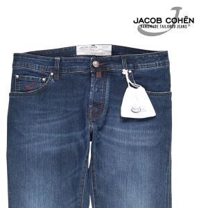 【34】 JACOB COHEN ヤコブコーエン ジーンズ PW622 メンズ ブルー 青 並行輸入品 デニム 大きいサイズ|utsubostock