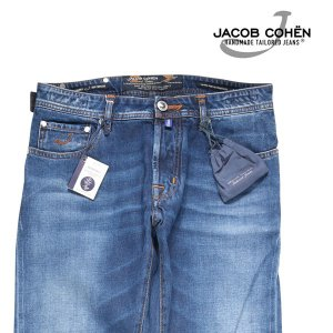 【32】 JACOB COHEN ヤコブコーエン ジーンズ J688 LIMITED メンズ ブルー 青 並行輸入品 デニム|utsubostock