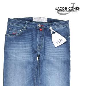 【33】 JACOB COHEN ヤコブコーエン ジーンズ PW688 メンズ ブルー 青 並行輸入品 デニム utsubostock