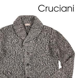【50】 CRUCIANI クルチアーニ カーディガン メンズ 秋冬 ブラック 黒 並行輸入品 ニット|utsubostock