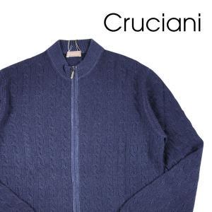 【50】 CRUCIANI クルチアーニ セーター メンズ 秋冬 カシミヤ100% ネイビー 紺 並行輸入品 ニット|utsubostock
