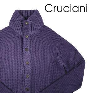 CRUCIANI(クルチアーニ) ハイネックセーター CU13.041 パープル 50 【W20235】|utsubostock