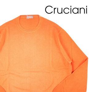 【50】 CRUCIANI クルチアーニ 丸首セーター メンズ 秋冬 カシミヤ100% オレンジ 並行輸入品 ニット|utsubostock
