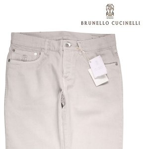 【54】 BRUNELLO CUCINELLI ブルネロクチネリ ジーンズ M051KJ1180 メンズ グレー 灰色 並行輸入品 デニム 大きいサイズ|utsubostock