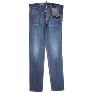 【50】 DSQUARED2 ディースクエアード ジーンズ S71LB0460 メンズ ブルー 青 並行輸入品 デニム|utsubostock|02