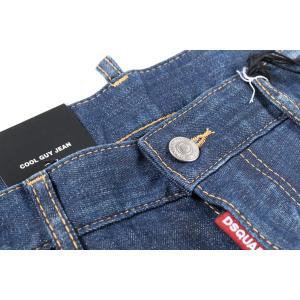 【50】 DSQUARED2 ディースクエアード ジーンズ S71LB0460 メンズ ブルー 青 並行輸入品 デニム|utsubostock|04