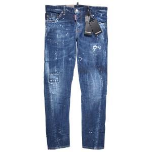 【48】 DSQUARED2 ディースクエアード ジーンズ S71LB0463 メンズ ブルー 青 並行輸入品 デニム|utsubostock|02