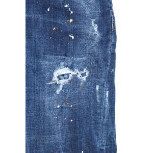 【48】 DSQUARED2 ディースクエアード ジーンズ S71LB0463 メンズ ブルー 青 並行輸入品 デニム|utsubostock|04