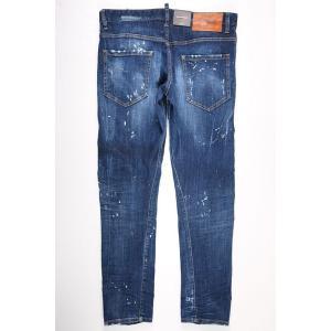 【48】 DSQUARED2 ディースクエアード ジーンズ S71LB0463 メンズ ブルー 青 並行輸入品 デニム|utsubostock|07