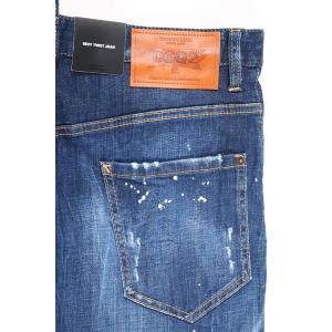 【48】 DSQUARED2 ディースクエアード ジーンズ S71LB0463 メンズ ブルー 青 並行輸入品 デニム|utsubostock|08