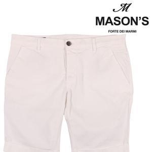 【48】 MASON'S メイソンズ ハーフパンツ メンズ 春夏 ホワイト 白 並行輸入品 ズボン utsubostock