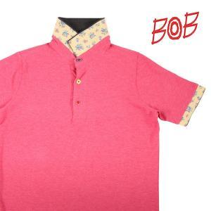 【M】 BOB ボブ 半袖ポロシャツ REEF メンズ 春夏 ピンク 並行輸入品 トップス utsubostock