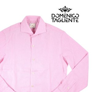 【38】 Domenico Tagliente ドメニコ・タリエンテ 長袖シャツ メンズ ピンク 並行輸入品 カジュアルシャツ|utsubostock