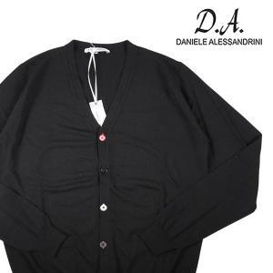 【48】 Daniele Alessandrini ダニエレアレッサンドリーニ カーディガン メンズ 秋冬 ブラック 黒 並行輸入品 ニット|utsubostock