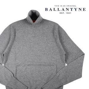 【48】 BALLANTYNE バランタイン タートルネックセーター X2P00212K00 メンズ 秋冬 カシミヤ100% グレー 灰色 並行輸入品 ニット|utsubostock