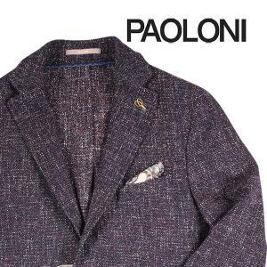 【50】 PAOLONI パオローニ ジャケット メンズ 秋冬 レッド 赤 並行輸入品 アウター トップス|utsubostock