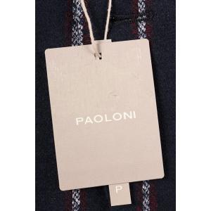 【48】 PAOLONI パオローニ ジャケット メンズ 秋冬 ストライプ ネイビー 紺 並行輸入品 アウター トップス|utsubostock|14