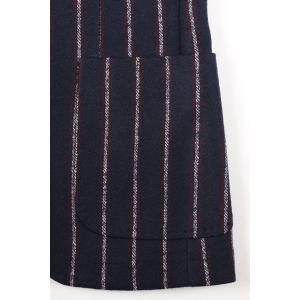 【48】 PAOLONI パオローニ ジャケット メンズ 秋冬 ストライプ ネイビー 紺 並行輸入品 アウター トップス|utsubostock|05