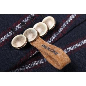 【48】 PAOLONI パオローニ ジャケット メンズ 秋冬 ストライプ ネイビー 紺 並行輸入品 アウター トップス|utsubostock|08