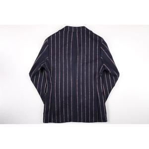 【48】 PAOLONI パオローニ ジャケット メンズ 秋冬 ストライプ ネイビー 紺 並行輸入品 アウター トップス|utsubostock|09
