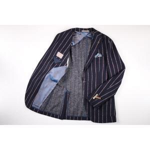 【48】 PAOLONI パオローニ ジャケット メンズ 秋冬 ストライプ ネイビー 紺 並行輸入品 アウター トップス|utsubostock|10